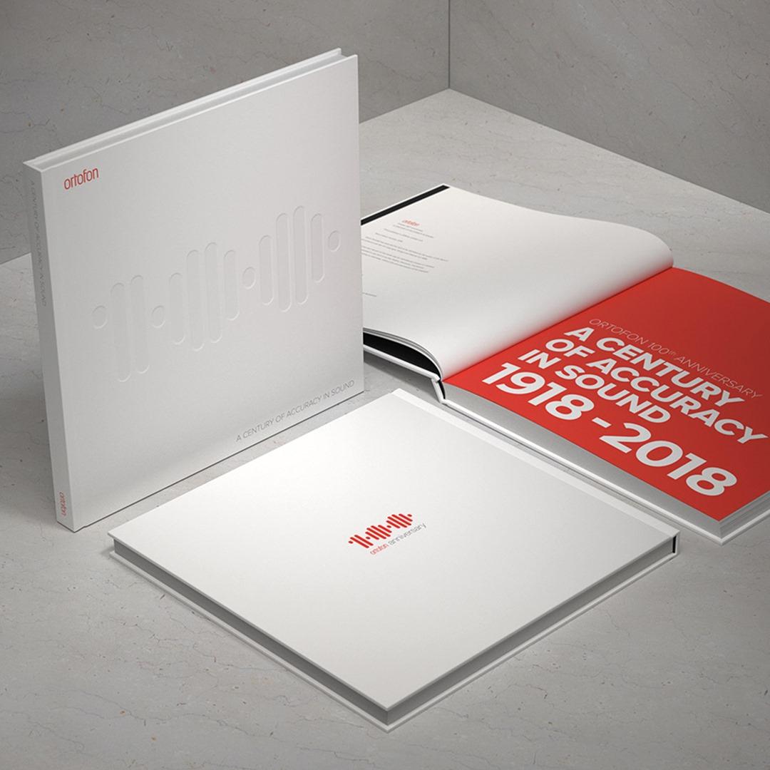 Für analoge HiFi-Fans: Ortofon-100-Jahre-Buch kostenlos bestellen dank Newsletteranmeldung - nur 750 Exemplare verfügbar