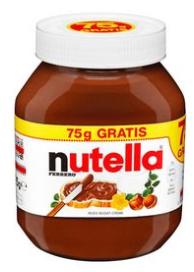 0,40€ Cashback für den Kauf von Nutella [marktguru]