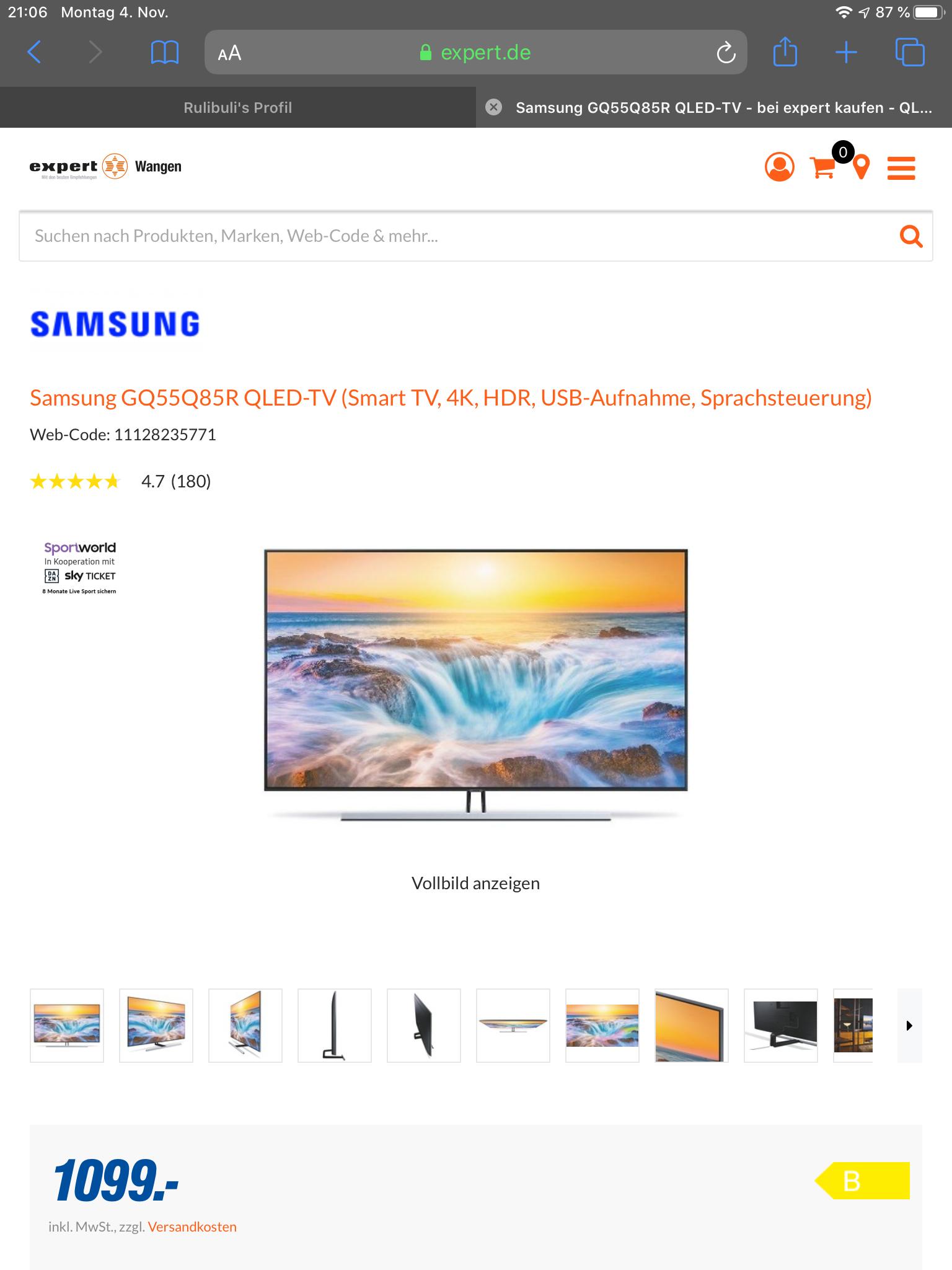 Samsung GQ55Q85R