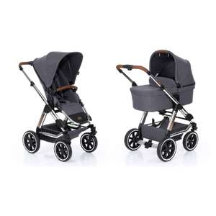 Babymarkt Tagesangebot ABC DESIGN Kombikinderwagen Condor Air Diamond SE asphalt