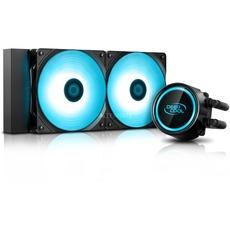 Deepcool Gammaxx L120T Red & Deepcool Gammaxx L240T Blue Wasserkühlungfür Intel / AMD ( Ryzen )