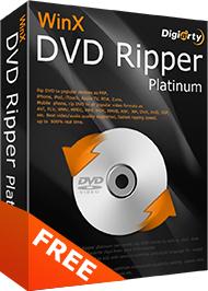 Kostenlos: WinX DVD Ripper Platinum (neueste Version) & WinX HD Video Converter