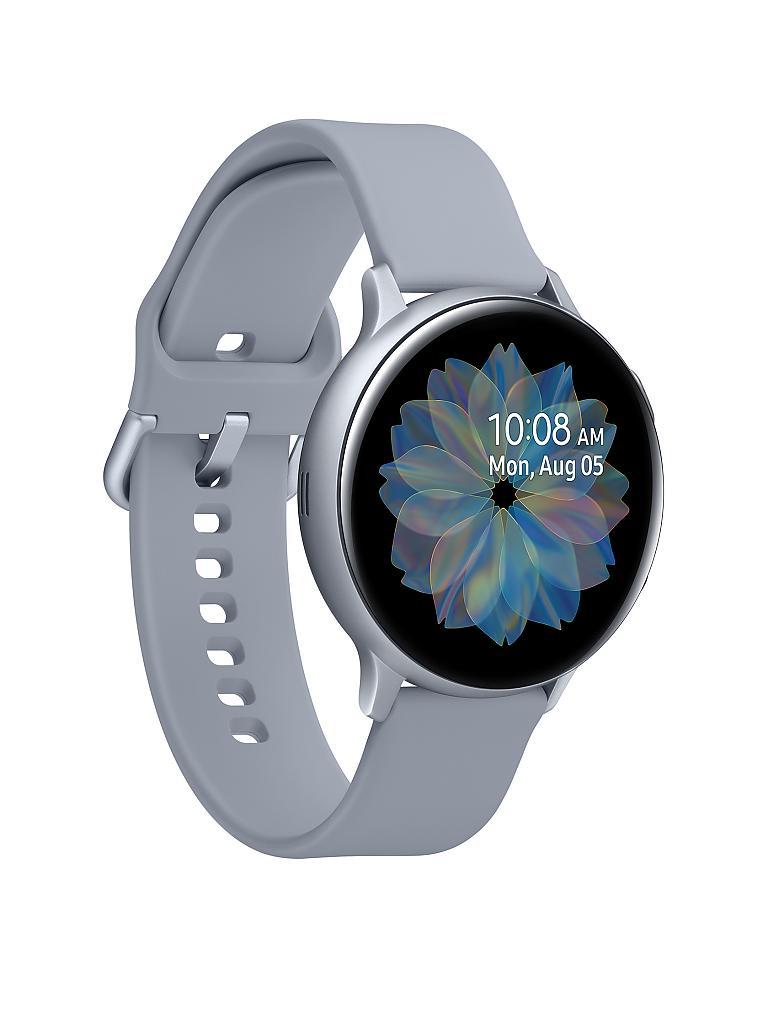 Galaxy Watch Active 2 44m in silber+rosa Aluminium