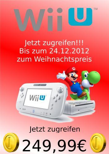 WiiU Basic für 249,99€ Bei McMedia Krefeld (Anstatt 279,99€) [LOKAL]