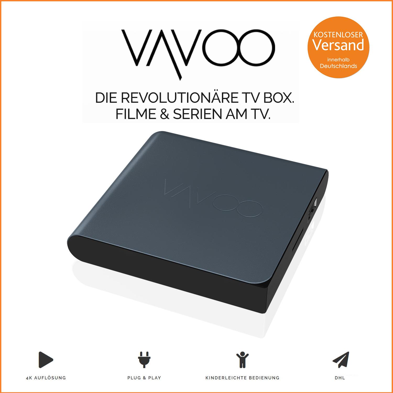 Original VAVOO TV Box mit 5%igem Rabatt und kostenloser Versand innerhalb Deutschland