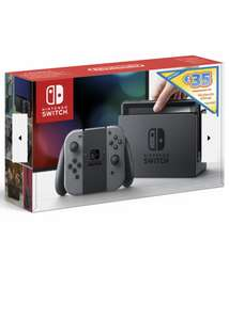 Nintendo Switch (alte Version) inkl. 35€ eShop Guthaben / Effektivpreis: 245€