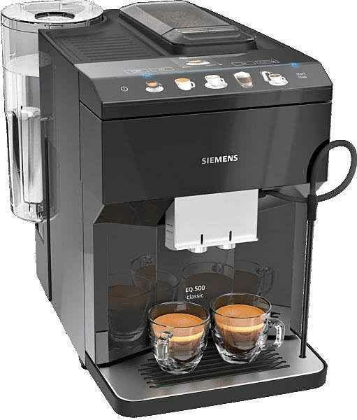 [NEWSLETTER-ANMELDUNG] SIEMENS Kaffeevollautomat EQ.500 classic TP503D09