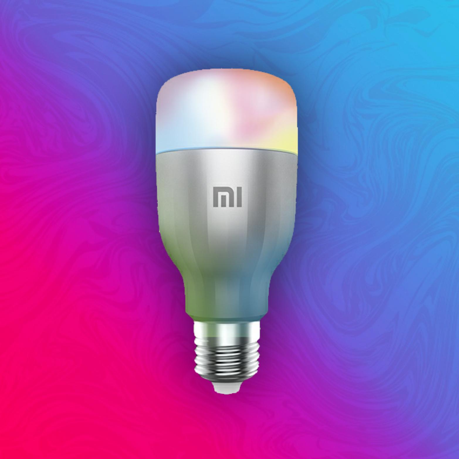 Xiaomi Mi MJDP02YL: Smart E27 Glühbirne - WiFi: App Control - RGBW - 600LM