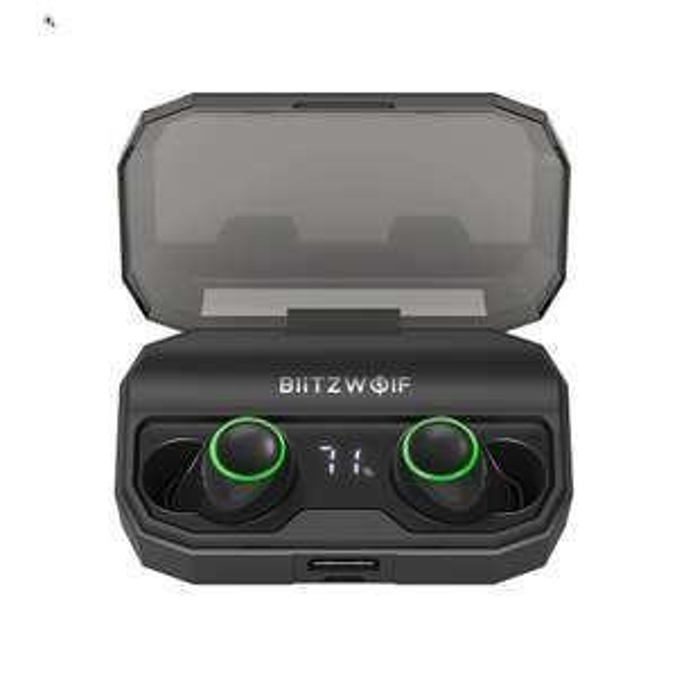 BlitzWolf BW-FYE3S - True Wireless Earbuds - IPX6 - AB1526P Chip - 2600mAh Ladebox - Bluetooth 5