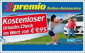 [Premio]Kostenloser Urlaubs-Check fürs Auto und Kostenlose Safety-Fill Reifengas Füllung