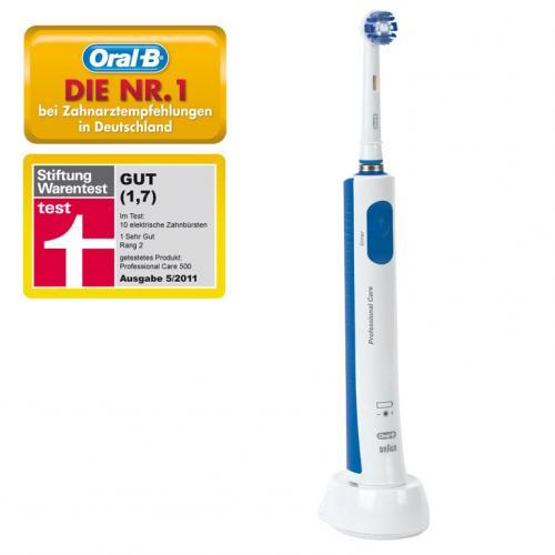 Amazon.de: Braun Oral-B Professional Care 500 Elektrische Zahnbürste für 19,99€