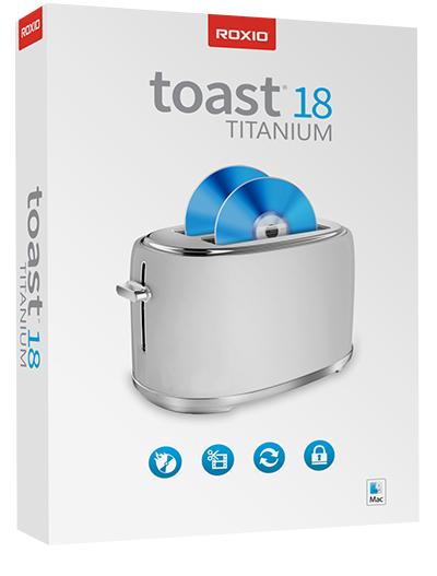Roxio Toast Titanium 18