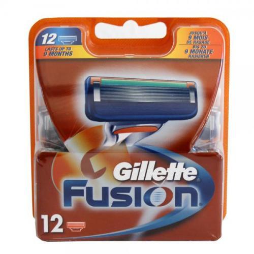 Gillette Fusion Rasierklingen 12Stück [OFFLINE] Rossmann