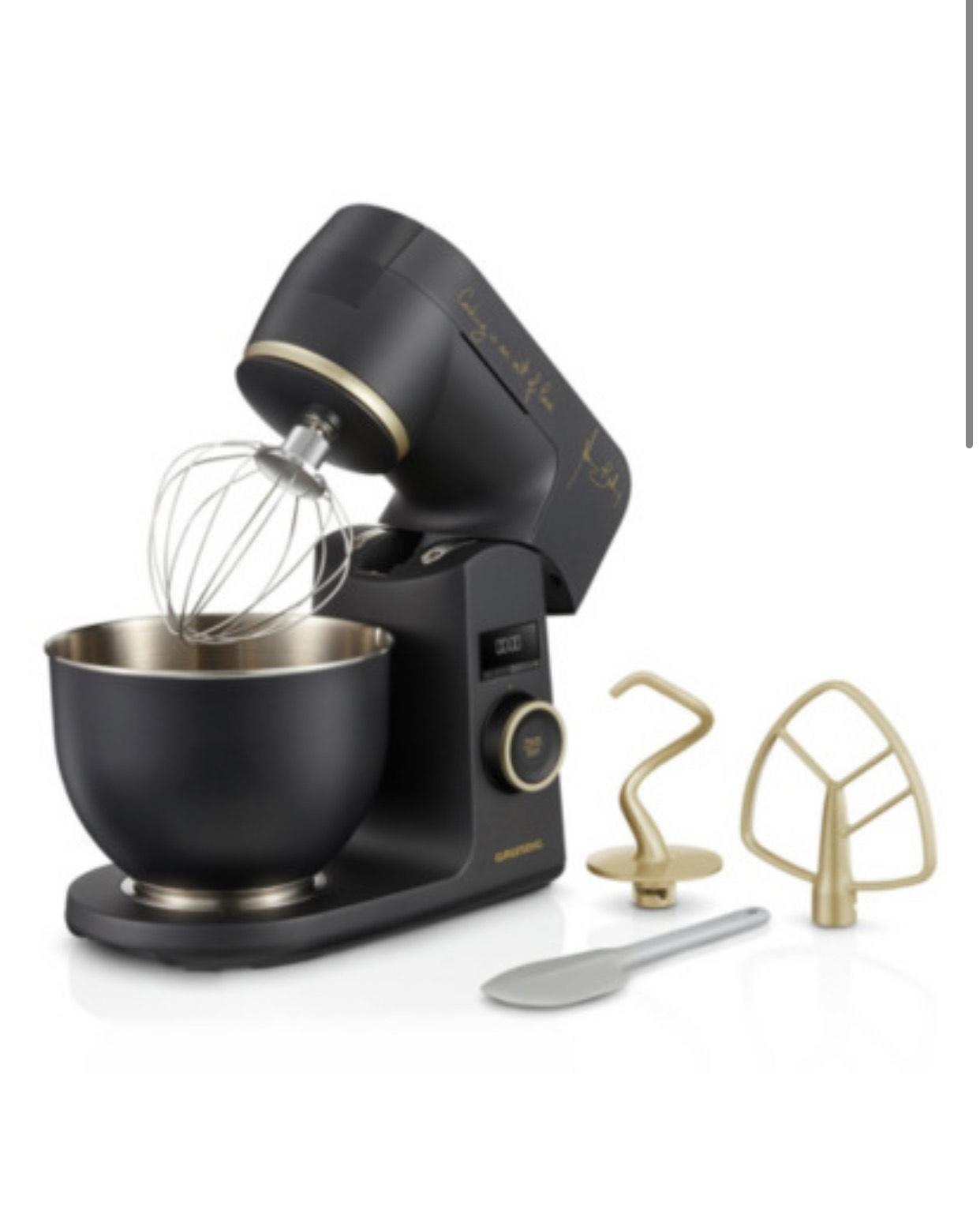 Grundig Küchenmaschine 8650 S MBC Schwarz