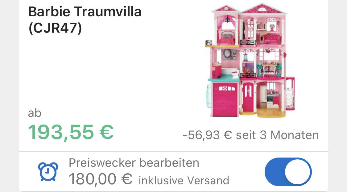 Barbie FFY84 - Traumvilla mit 7 Zimmer, Auslaufmodell