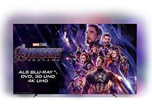 "Philips 55OLED804 - 55"" 4K OLED Smart TV (120 Hz, 10bit, Android TV, Dolby Atmos, Dolby Vision, Sprachassistent) 2019"