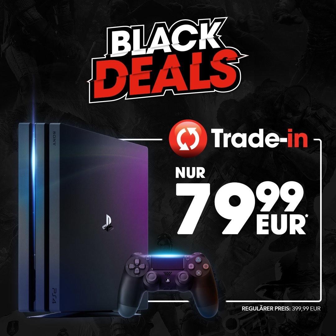 GameStop: PS4 Pro Trade-in für 79,99€