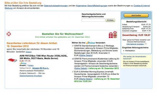 AVM FRITZ!Box 7390 Wlan Router  bei WHD