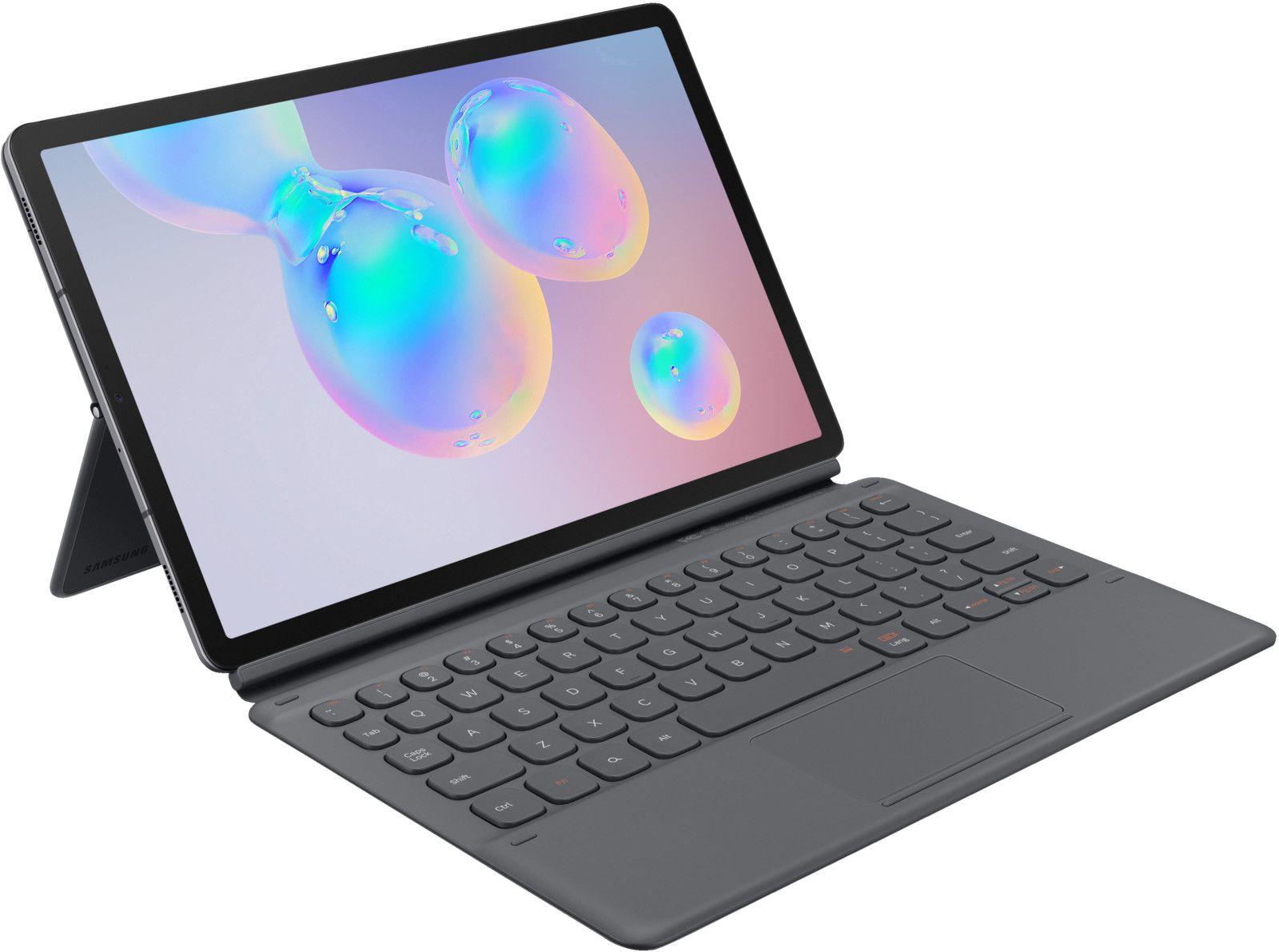 Samsung Book Cover Keyboard EF-DT860 (DE) grau [eBay Saturn]
