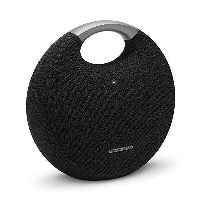 Harman/Kardon Onyx Studio 5: Bluetooth-Lautsprecher (5 Stunden Akku, 50Hz - 20kHz, 80dB Rauschabstand)