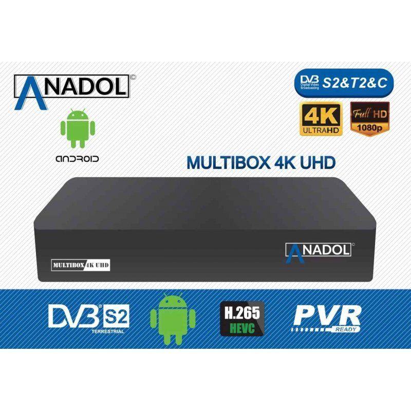 Anadol Multibox 4K / UHD Receiver auf Linux-Basis