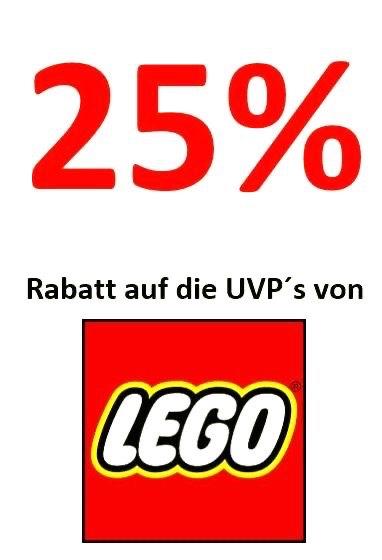 25% auf Lego UVP bei Kinderland A in Gronau und Ahaus