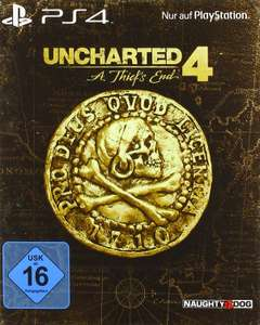 Uncharted 4: A Thief's End - Special Edition (inkl. Steelbook, 48-seitigem Hardcover Art Book, Stickern & Naughty Dog Points) [PlayStation4]