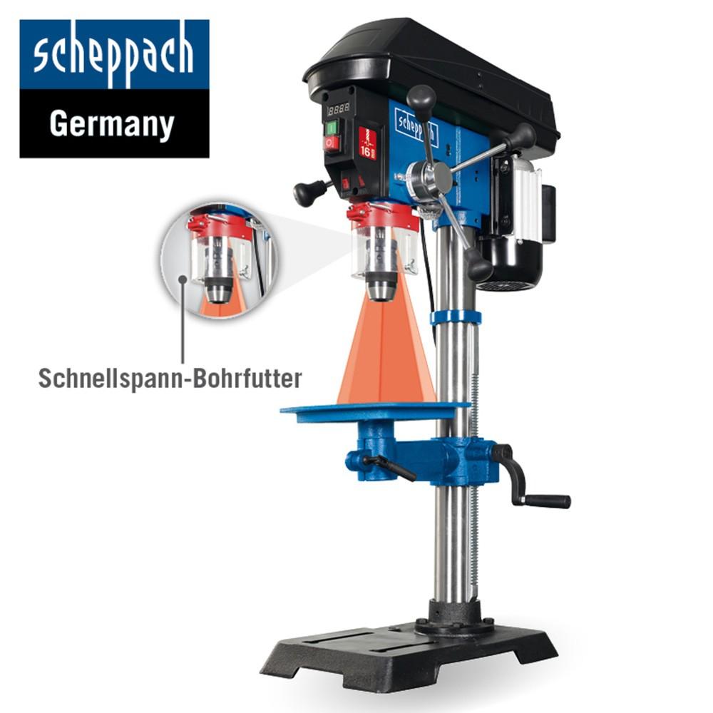 30% extra Rabatt auf Aktionsartikel, zB Scheppach Profi-Säulenbohrmaschine DP18 für 179,25€ statt 280€