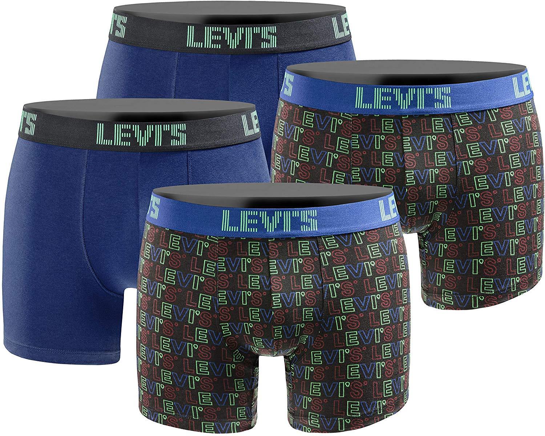 LEVIS Boxershorts Herren Limited Style Edition 4er Pack (4,87€ / Stück)