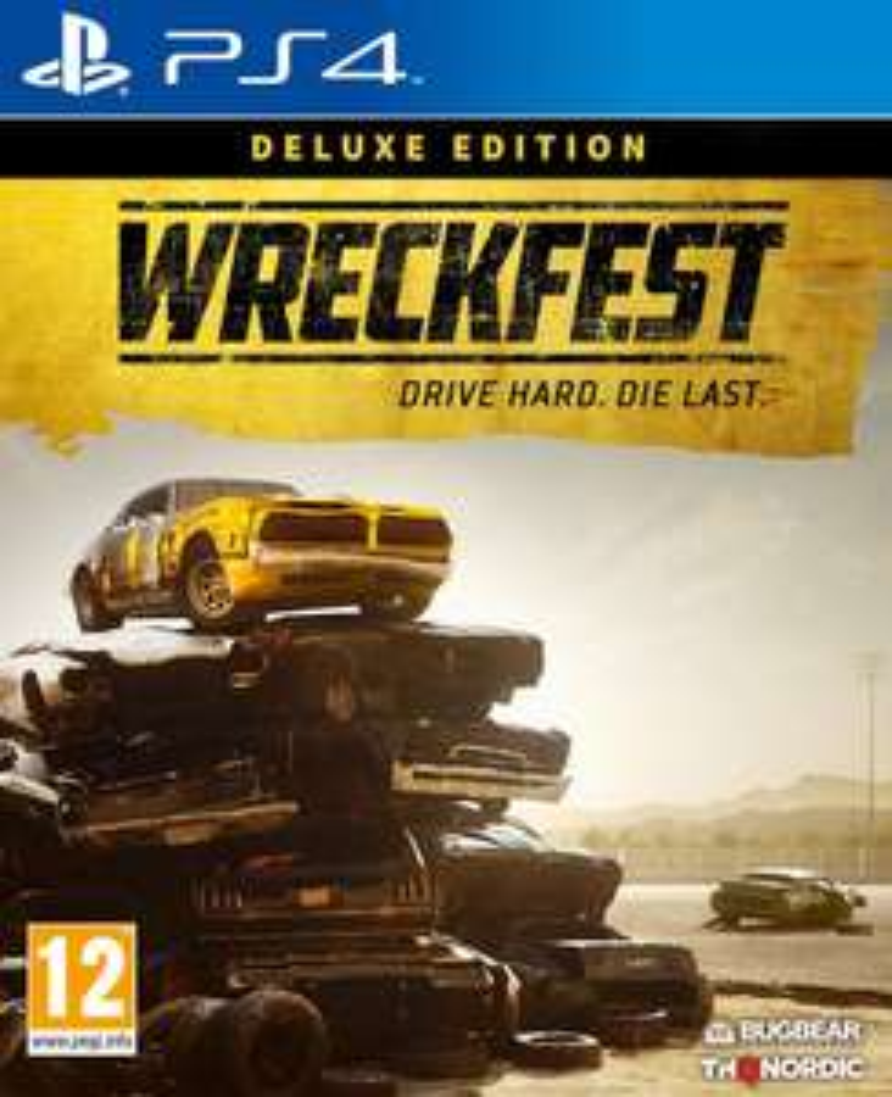 Wreckfest: Deluxe Edition (PS4 & Xbox One) für je 38,63€ (Amazon UK)