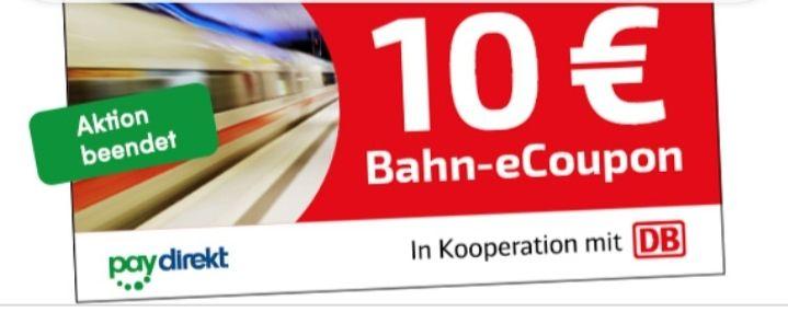 400 Bahn Paydirekt Gutscheine - for free, schönes Wochenende!