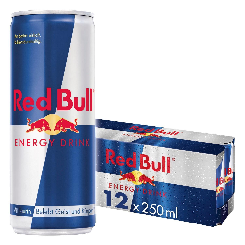 12er Pack Red Bull Energy Drink für 9,99 Euro / Stückpreis=83 Cent [Netto MD]
