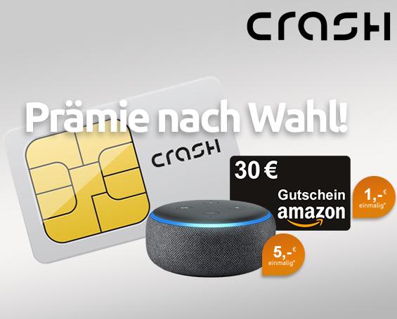 [Telekom-Netz] Crash Smartphone Flat mit 500 MB LTE (25 Mbit/s) & 100 Freiminuten für mtl. 2,99€