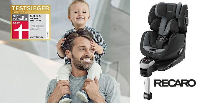 Recaro Zero.1 i-Size (Testsieger 2017)360 Grad drehbarer Kindersitz