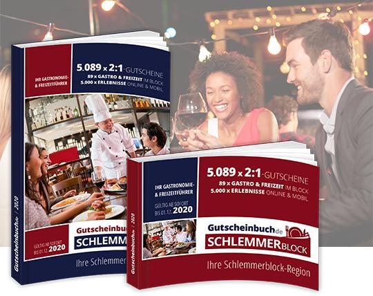 Gutscheinbuch/Schlemmerblock vergünstigt