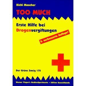 ABGELAUFEN Too Much! Erste Hilfe bei Drogenvergiftungen [Preisfehler?)