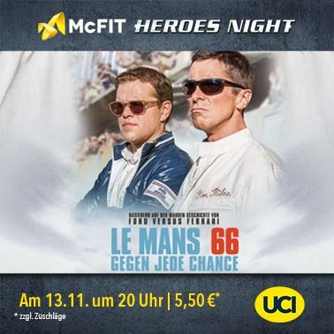 [McFit / UCI Kinowelt] Le Mans 66 - Gegen jede Chance