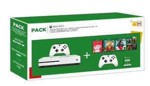 Xbox One S 1TB + Xbox One S Controller + Fifa 20 + Borderlands 3 + Gears 5: Bundle Pack + 3 Monate Xbox Live Gold für 262,78€ (Fnac FR)