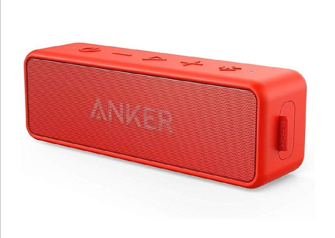 (Amazon Prime Blitzangebot) Anker SoundCore 2 Rot oder Blau Dank 6€ Coupon