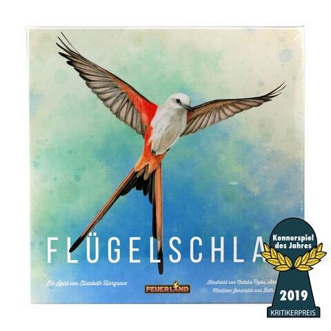 Flügelschlag (Müller Filialabholung, Kennerspiel des Jahres 2019, Brettspiel, Gesellschaftsspiel)