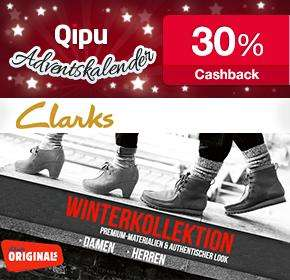 40% Rabatt Sale bei Clarks+30% Cashback
