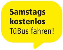 [Tübingen] Samstags kostenlos Bus fahren