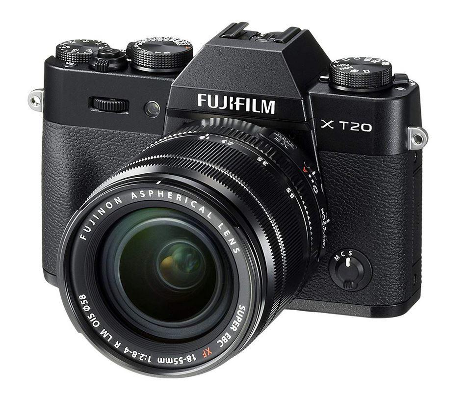 Fujifilm X-T20 Systemkamera mit XF18-55mm Objektiv Kit +100€ Geschenkcoupon [Amazon & Saturn]