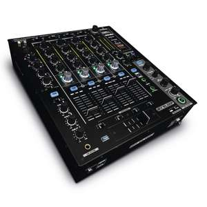 Reloop RMX-90 DVS Mixer (Serato, 4-Kanal, 8 In/Out DVS Interface, 3-Band EQ)