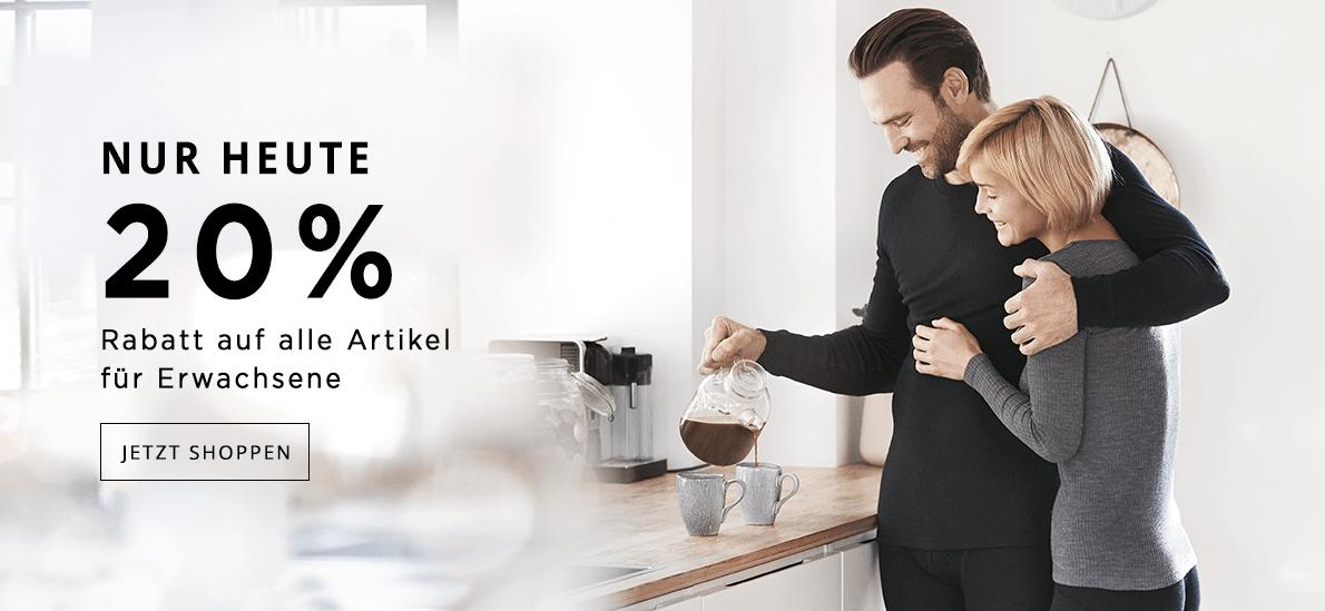 Merino-Aktion bei Dilling nur heute am Sonntag 10.11.19 - 20% auf alles