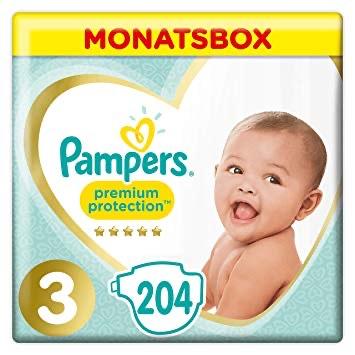 -20% auf Pampers Premium Protection Monatsboxen oder Dreierpacks
