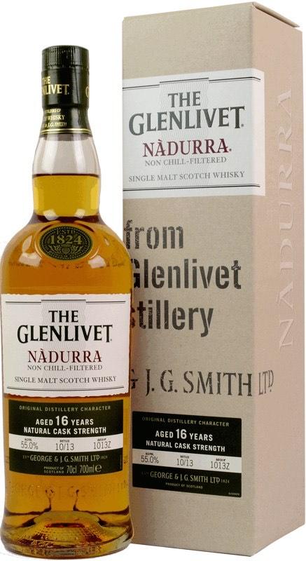 Glenlivet Nadurra Finish 16 Jahre 55,0% 0,7l