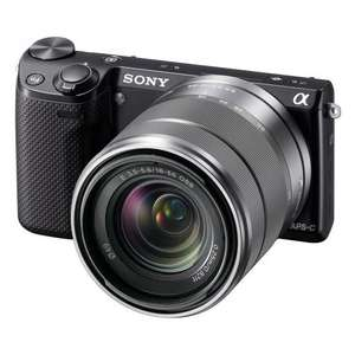 CH: Sony NEX-5R Kit 18-55 black