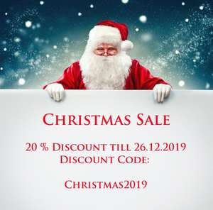 Bunkerbase 20% Christmas Special