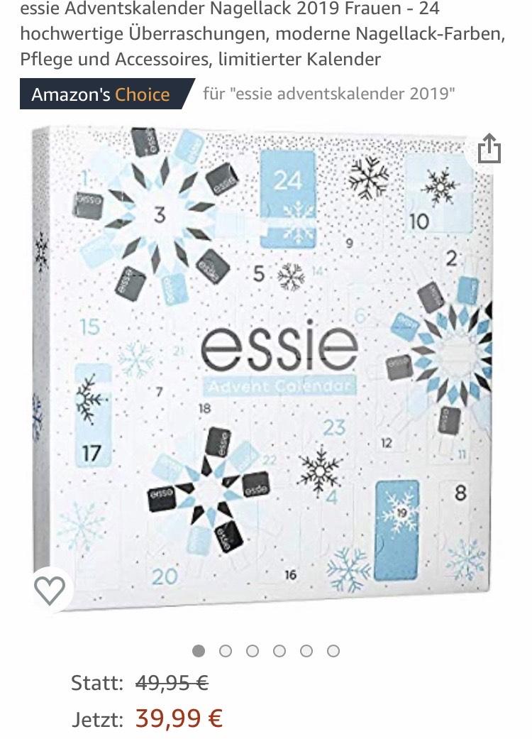 Essie Adventskalender Nagellack 2019